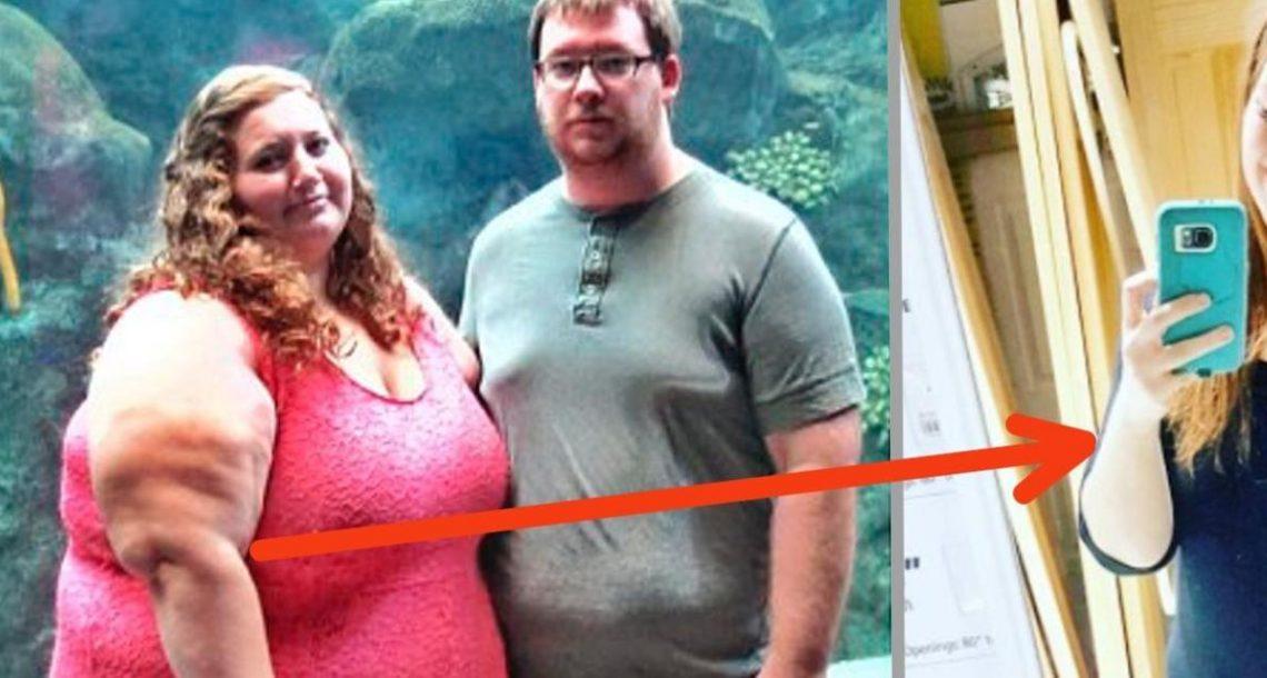 """בת 26 לא הורשתה לעלות על רכבת הרים כי הייתה שמנה מדי – 6 חודשים אח""""כ חשפה את הגוף החדש שלה והשאירה את כולם בשוק!"""