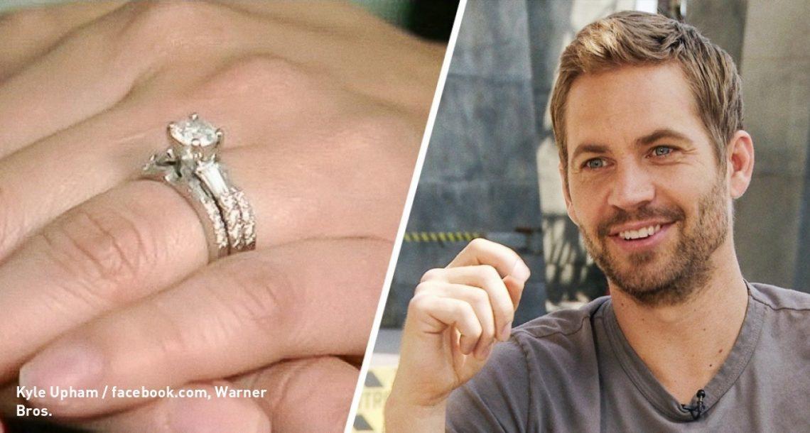 כשפול ווקר היה בחיים, הוא שילם 9000 דולר על טבעת עבור זוג שלא הכיר, וזו הסיבה מדוע