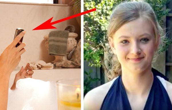 נערה מתה אחרי שעשתה את הדבר הקטלני הזה באמבטיה – אם הילד שלכם עושה זאת גם, הזהירו אותו מיד!