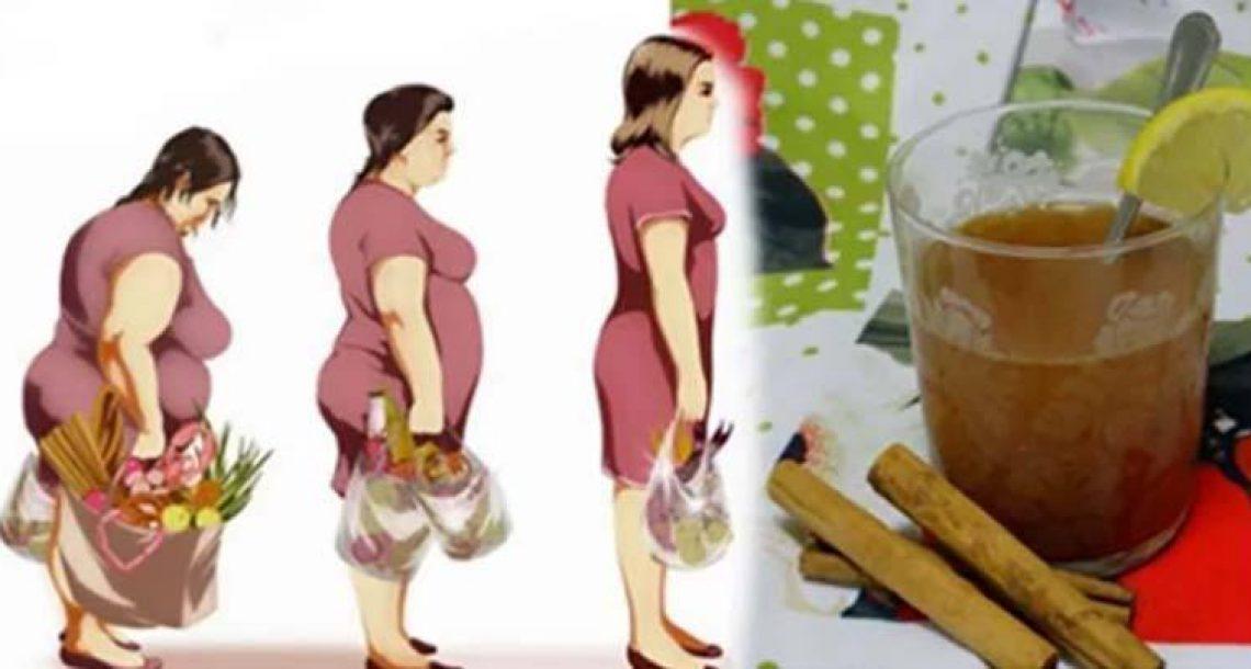 3 מרכיבים וזה הכל! המשקה הטבעי הזה יזרז את חילוף החומרים ויסייע לכם להוריד משקל בקלות