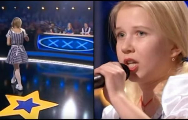 ילדה קטנה עלתה לבמה אבל שניות לתוך המופע השופטים נותרו פעורי פה מהכישרון הלא צפוי שלה