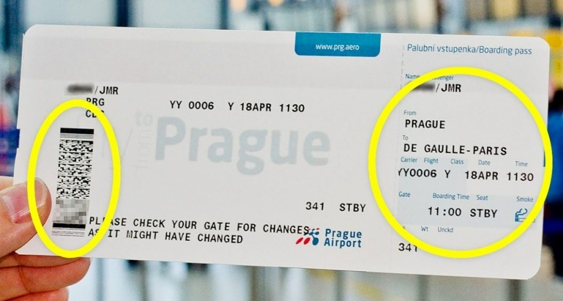זאת הסיבה שאסור לכם לעולם לשתף תמונה של כרטיס העליה למטוס שלכם!